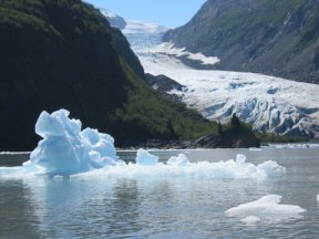 """Shrinking Glaciers: A Chronology of Climate Change"" with Michael Kaplan (Oct 2013)"